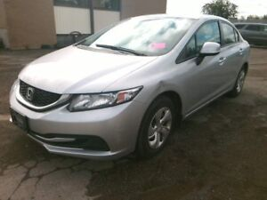 2013 Honda Civic LX, 4 door, manual transmission
