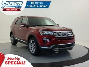 2018 Ford Explorer Limited 4WD - SYNC Connect, Leather, Tow Pack