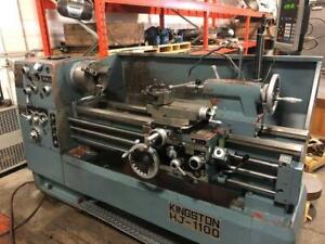 Kingston HJ-1100 Tool Room Manual Lathe ***BIDDING IS LIVE*** Canada Preview