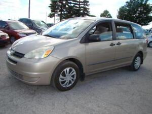 2004 TOYOTA SIENNA - ONE SET  EXTRA WITER TIRES
