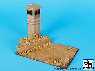 Black Dog 1/72 Guard Tower Section Vignette / Diorama Base (150mm x 90mm) D72038