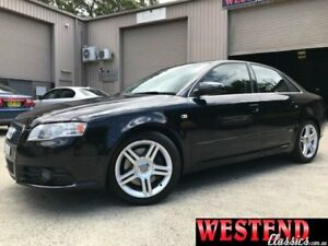 2006 Audi A4 B7 S Line Black Manual Sedan Lisarow Gosford Area Preview