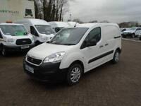Peugeot Partner L1 850 1.6 BLUEHDI 100 PROFESSIONAL (NON S/S)EURO 6 WHITE (2016)