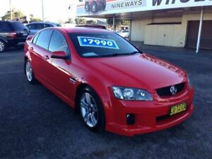 2009 Holden Commodore VE MY09.5 SV6 Red 5 Speed Automatic Sedan Broadmeadow Newcastle Area Preview