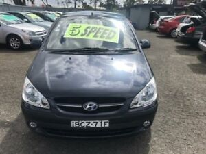 2007 Hyundai Getz TB Upgrade 1.6 SXI Grey 5 Speed Manual Hatchback Lansvale Liverpool Area Preview