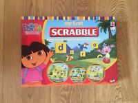 5 fun and educational board games in excellent condition. Suit age 4+.