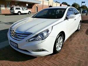2012 Hyundai i45 YF MY11 Active White 6 Speed Sports Automatic Sedan Victoria Park Victoria Park Area Preview
