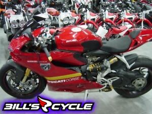 2013 DUCATI 1199S   Panigale S Red