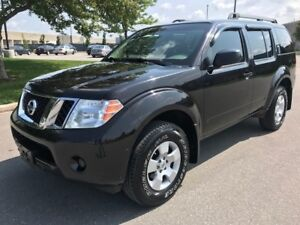 2011 NISSAN PATHFINDER 4WD|7 PASSSENGER|4x4|TRAILER HITCH|ALLOYS