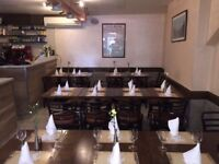 EXPERIENCED WAITER, WAITRESS REQUIRED FOR ITALIAN RESTAURANT IN W2