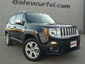 2017 Jeep Renegade Limited | LEATHER | NAV | SUNROOF |