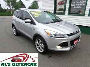 2015 Ford Escape Titanium AWD only $232 bi-weekly all in!