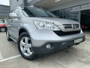 2008 Honda CR-V RE MY2007 Extra 4WD Silver 5 Speed Automatic Wagon Fyshwick South Canberra Preview