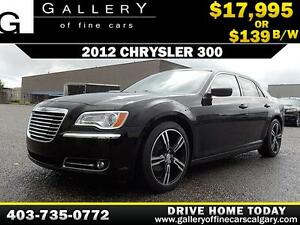 2012 Chrysler 300 Touring $139 bi-weekly APPLY NOW DRIVE NOW