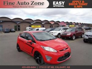 2012 Ford Fiesta SEL LEATHER SUNROOF 90 DAYS NO PAYMENT