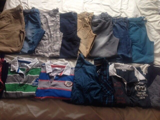 Size 12 - 13 Boys Trousers and tops