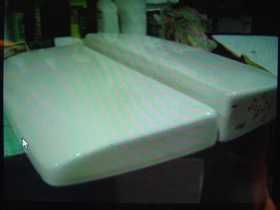 American Standard toilet tank lid LUXOR VENT-AWAY  F 2002 2003 LOW BACK WHITE