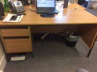 7 high quality office tables/desks
