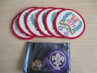 Old Fabric Scout Badges