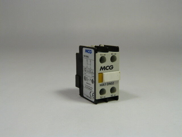 MCG MA1-DN11 Contactor 1NO 1NC  USED