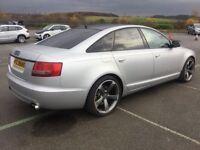 "2006 Audi A6 Auto 7 gears 2.7 Tdi Sline 19"" Genuine Black edition Rotar Alloy wheels"