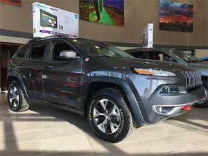 2015 JEEP CHEROKEE TRAILHAWK CLEARANCE PRICE & READY TO ROLL !!