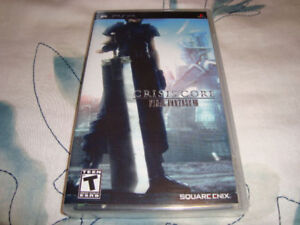 PSP FINAL FANTASY CRISIS CORE VII 7 BRAND NEW