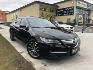 2015 Acura TLX AWD Tech Package/100% Accident free