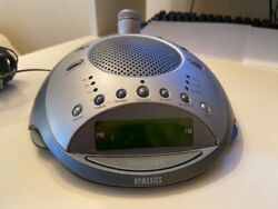 HoMEDICS SS4000 Desktop Clock Radio and Sound Spa with Time Projection Display