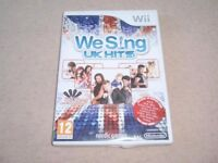 We Sing UK Hits Game for the Nintendo Wii