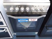 NEW GRADED STAINLESS STEEL INDESIT SINGLE OVEN W/GRILL REF: 13298