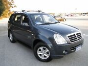 2009 Ssangyong Rexton Y220 II MY08 RX270 Blue 5 Speed Sports Automatic Wagon Maddington Gosnells Area Preview