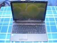 acer aspire 5733 i3 laptop 6gb memory 15.6 screen