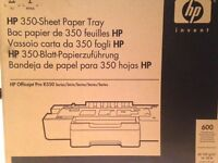 HP 350-Sheet paper tray. Brand new