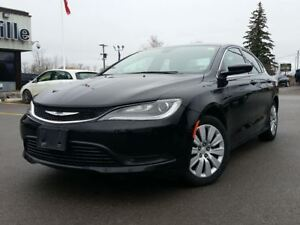 2015 Chrysler 200 LX 4D Sedan Black