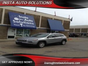 2015 Jeep Cherokee North 4x4 - Uconnect - Warranty included