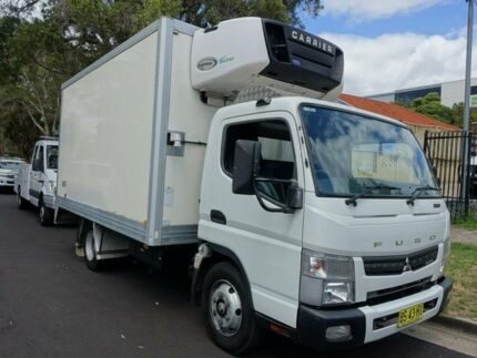 2012 Mitsubishi Fuso Canter 6 Pallet Freezer & 815 7.5 MWB Refrigerated Truck 3.0l 4x2