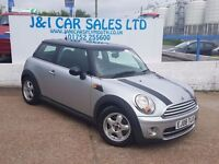 MINI HATCH COOPER 1.6 COOPER D 3d 108 BHP A GREAT EXAMPLE INSIDE AND (silver) 2008