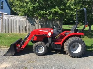 Massey Ferguson 24hp Compact Tractor - DON'T MISS OUT!