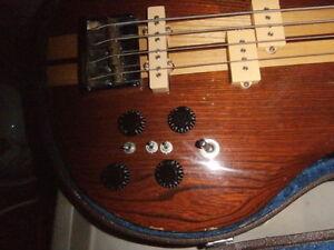 Vintage El Degas Set-Neck Bass (made in Japan)