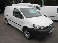 Volkswagen Caddy MAXI 1.6 TDI 102PS VAN DIESEL MANUAL WHITE (2013)