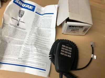 Shure 885tt Modulator Dtmf Microphone Midland 70-1336 70-1337 Many Motorola