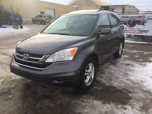 2010 HONDA CRV EX-L AWD 2.4L LEATHER/SUNROOF