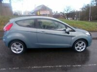 FORD FIESTA 1.2 STYLE PLUS 3d 81 BHP (blue) 2009