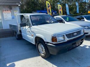 1998 Ford Courier XL White 5 Speed Manual Cab Chassis Morayfield Caboolture Area Preview