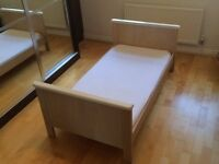 Mamas and Papas Cot bed and Wardrobe