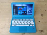 HP STREAM 11 BLUE LAPTOP GREAT CONDITION