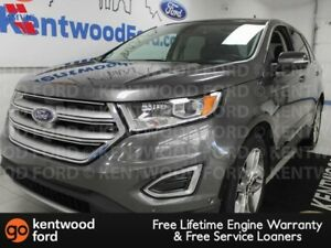 2015 Ford Edge Titanium AWD ecoboost, NAV, sunroof, heated/coole