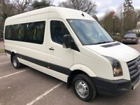 VOLKSWAGEN CRAFTER CR50 LWB 16 seater minibus 2007/07 welfare/accessible