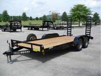 2015 HEAVY DUTY EQUIPMENT TRAILER /  PLATEFORME AUTO EQUIPMENT